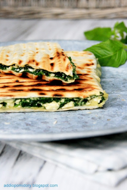 Spinach  Cheese Gozleme