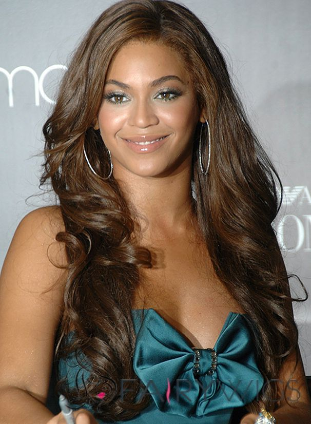 How To Get the Beyonce Look with a Lace Front Wig - YouTube