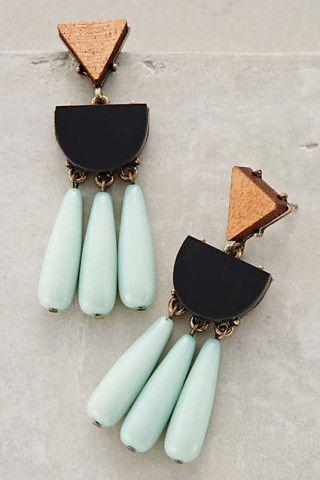 jewelry + statement earrings   Julie de la Playa  ♦F&I♦
