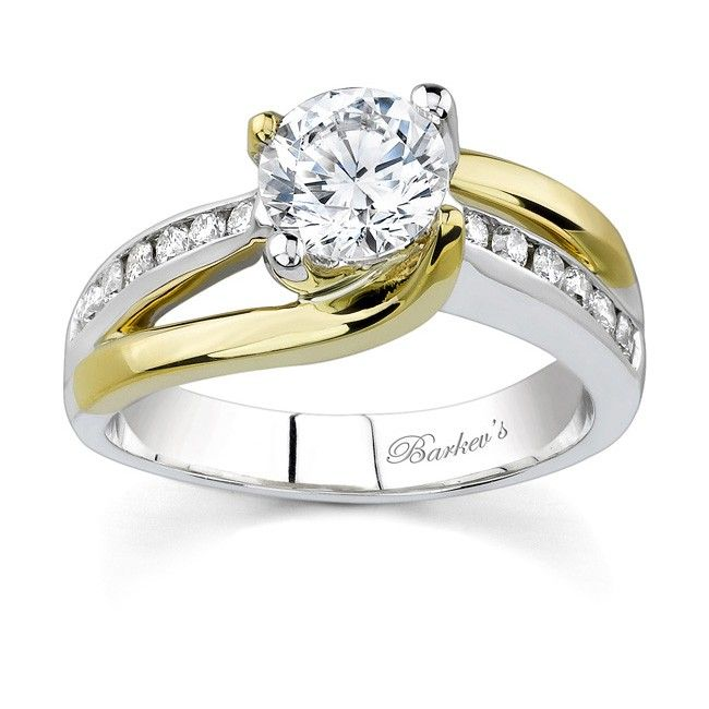 two tone wedding rings 25 best ideas about two tone engagement rings on 8144