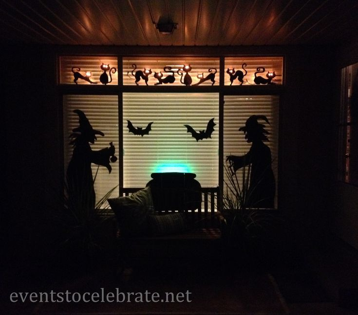 Halloween Window Decorations