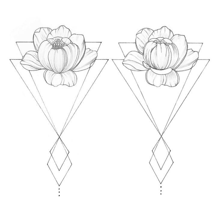 WTKE (@sofia_finardi) ON INSTAGRAM  | Drawing | black | white | pen | sketching | art | peonies | flowers | geometric | tattoo | fineline | fineart