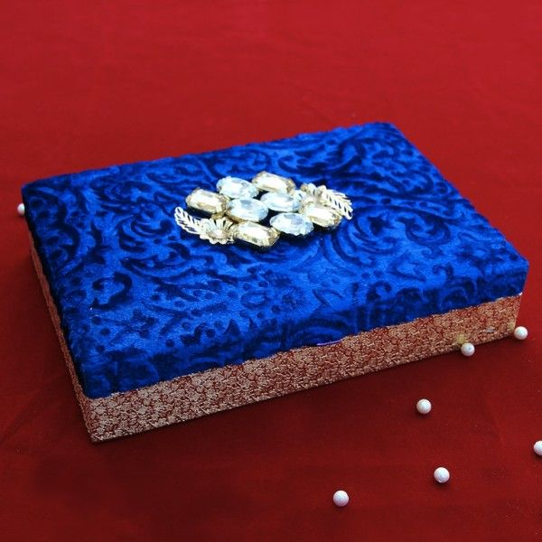 Blue Wedding Trays Box (Click To Buy | Only Rs 425)