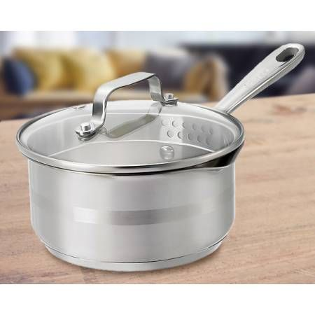 Tefal - Jamie Oliver sauce pan, 16 cm  Check it out on: https://tjengo.com/ovn-komfur/367-tefal-kasserolle-16-cm.html?search_query=jamie+oliver&results=14