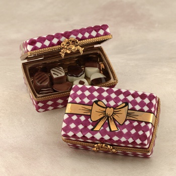 Limoges chocolate box