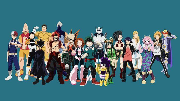 Https C4 Wallpaperflare Com Wallpaper 859 976 896 Anime My Hero Academia Denki Kaminari Eijiro Kirishima Wallpaper Previ Hero Wallpaper My Hero Academia Hero