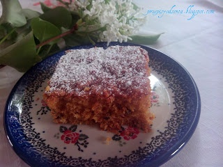 Carrot cake / Ciasto marchewkowe