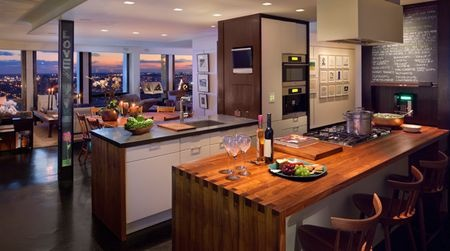 Wow! The ultimate contemporary kitchen for city living!