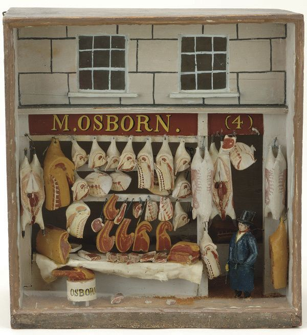 1000+ Images About Miniature Butcher Shops On Pinterest
