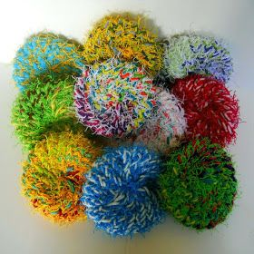 If you're looking for a quick on-the-go project that is both fun to make and very useful, the little 4 inchdiameter Scrubadubby  is th...
