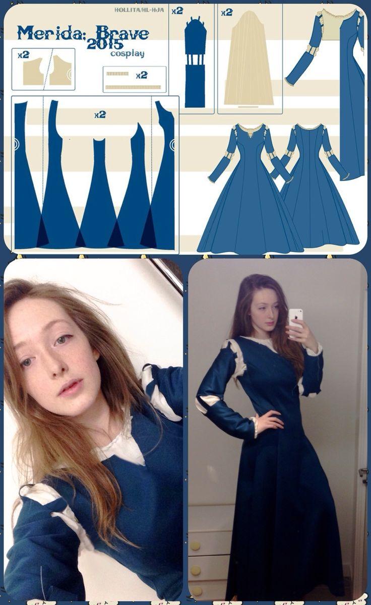 Merida Dress Pattern                                                                                                                                                                                 More