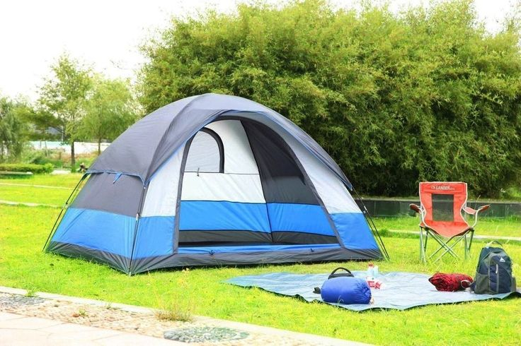 5 Person Outdoor Family Dome Tent Water Resistant  3-Season Lightweight Camping #5PersonOutdoorFamilyDomeTent #Dome
