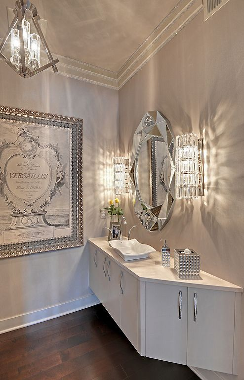 Best Silver Bathroom Ideas On Pinterest Bathroom Vanity - Gold bathroom light fixtures for bathroom decor ideas