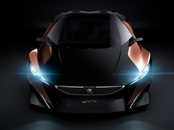 Peugeot Onyx Concept: Fantasy Car Great Ideas