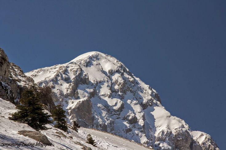 """""""Piramida"""" peak, mt Giona, Greece"""