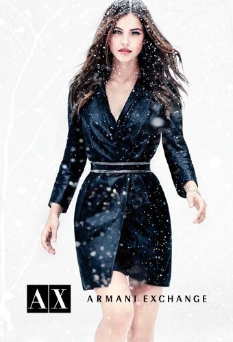 A|X Armani Exchange Holiday 2012 / Barbara Palvin