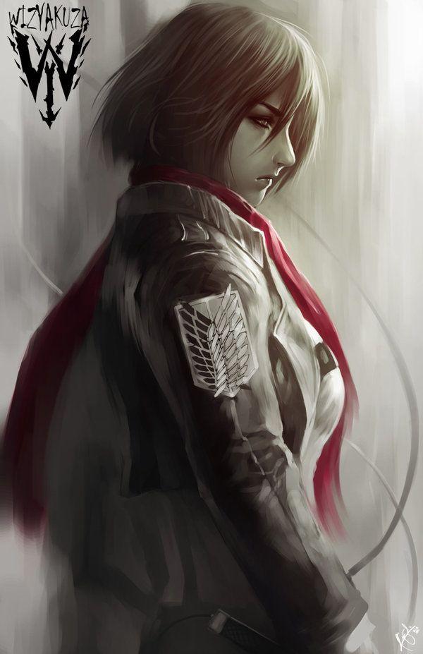Mikasa by wizyakuza on DeviantArt
