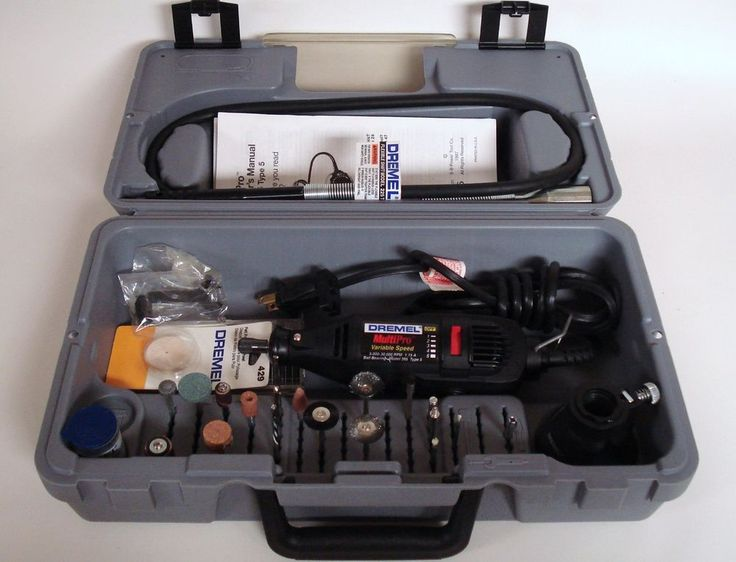 Dremel MultiPro Tool Model 395 Type 5 Variable Speed with Case #Dremel