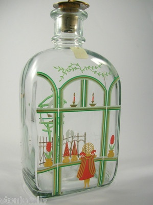 Holmegaard Christmas Bottle Decanter 1987 Jette Frolich.  I've got 8 so far and a long way to go.