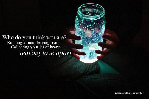 Jar of Hearts- Christina Perri