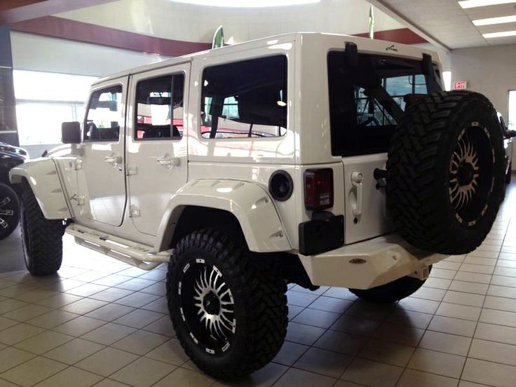 2013 Jeep Wrangler Unlimited Sahara Parts Purchased And