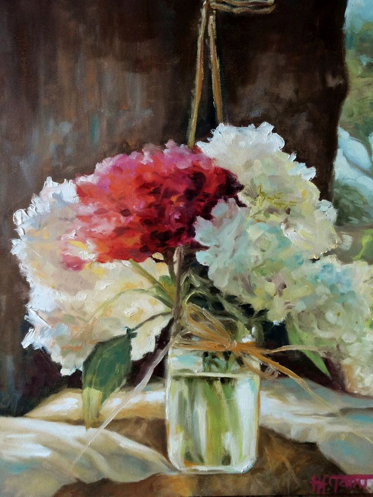 sunkissed .. sunlit hydrangeas painting ,floral oil on canvas - ortensie assolate dipinto oilo su tela by NeedToCreateArt on Etsy https://www.etsy.com/listing/253063095/sunkissed-sunlit-hydrangeas-painting