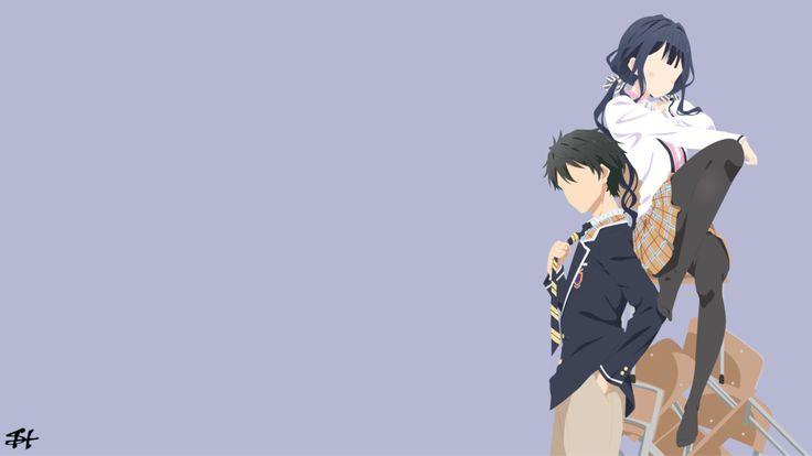 Masamune-kun no Revenge (Minimalist Wallpaper) by slezzy7