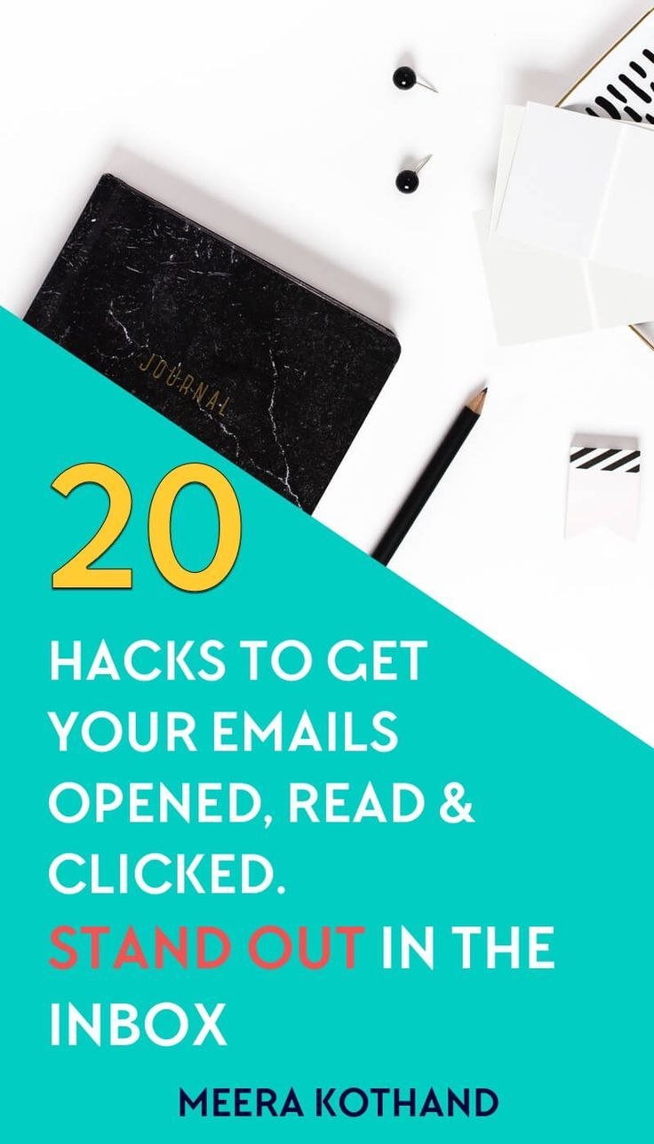 Does it feel like an uphill task to get subscribers to open and act on your emails? If you feel like your emails are being ignored, this post will give you 20 nifty hacks that help your emails get opened, clicked and read. You'll also know the NO #1 factor that determines why a subscriber opens your email.  via @meerakothand