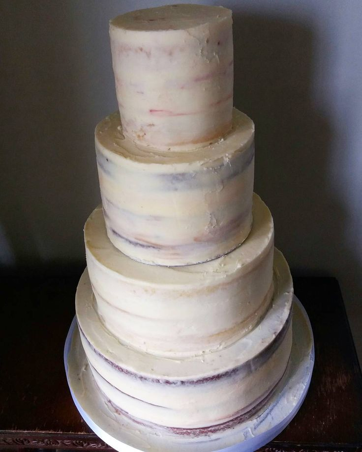 Congratulations to Kylie & Steve! They chose a semi naked cake, waiting to be decorated with fresh flowers! I love how you can see the different flavours-  praline, bakewell tart, chocolate orange & vanilla at the top! #wedding #weddingcakes #nakedweddingcakes #seminakedweddingcakes #seminakedcake #buttercream #buttercreamcake #flavours #4tiers #4tierweddingcake #vanilla #chocolateorange #bakewelltart #praline #ganache #whitechocolate #cakedesign #harrogatecakes #knaresboroughcakes…