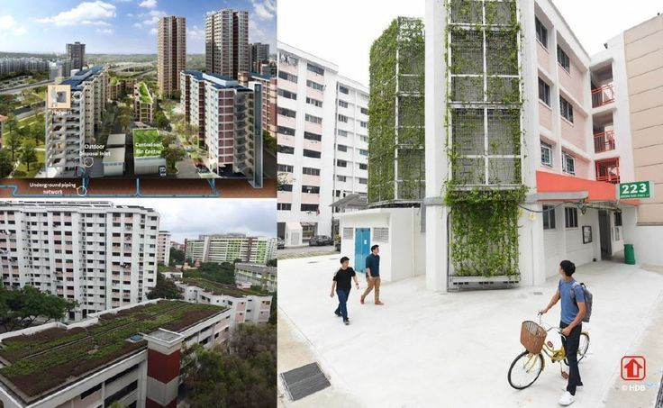 The Greenprint programme in Yuhua was awarded the Building and Construction Authority's top accolade for sustainable design, while the SkyVille@Dawson project was the first HDB project to win the top award for inclusive design.