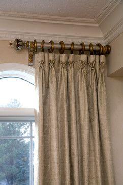 North Oaks Window Treatments - mediterranean - living room - minneapolis - by Embellishments Design Studio--pleats