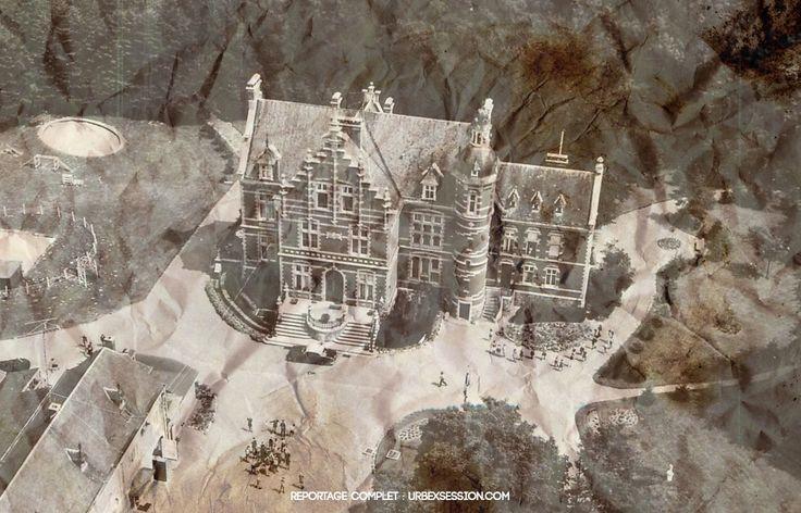 Château abandonné en Belgique   urbexsession.com/chateau-danny-rolling   Urbex Belgique