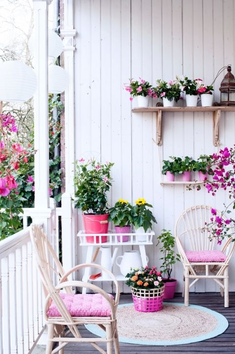 Buitenleven | De kleurrijke zomer tuin - Stijlvol Styling woonblog www.stijlvolstyling.com