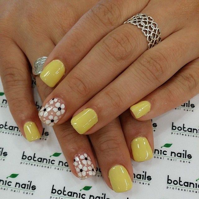 17 best images about botanic nails on pinterest nail art - Modelos de unas pintadas ...