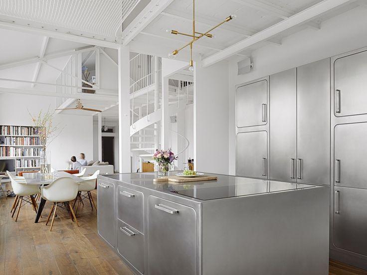 Cuisine professionnelle en acier inoxydable EGO by Abimis is a Prisma S.r.L. brandmark design Alberto Torsello