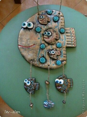 Clay Wall Hanging
