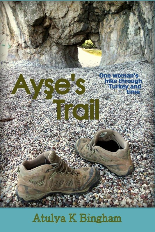 Written by her friend Atulya, Ayse's Trail is the story of a Turkish woman, who defied society's expectations. The book was delivered to me by cargo and I remember thinking excellent timing! Full review here - http://turkishtravelblog.com/ayse-metin-walking-lycian-way-turkey/