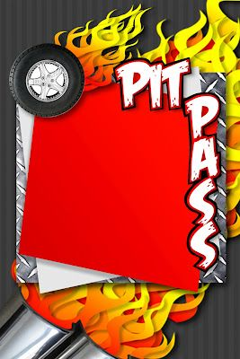 New Pinewood Derby Pit Passes