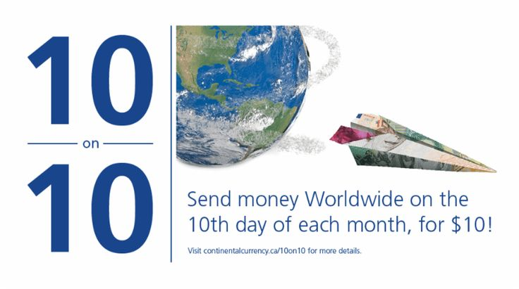 10 on 10: Save on Your Next Money Transfer