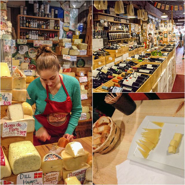 The Carmel Cheese Shop, grab some wine and cheese for a picnic on the beach! Best Carmel Restaurants and Foodie Finds