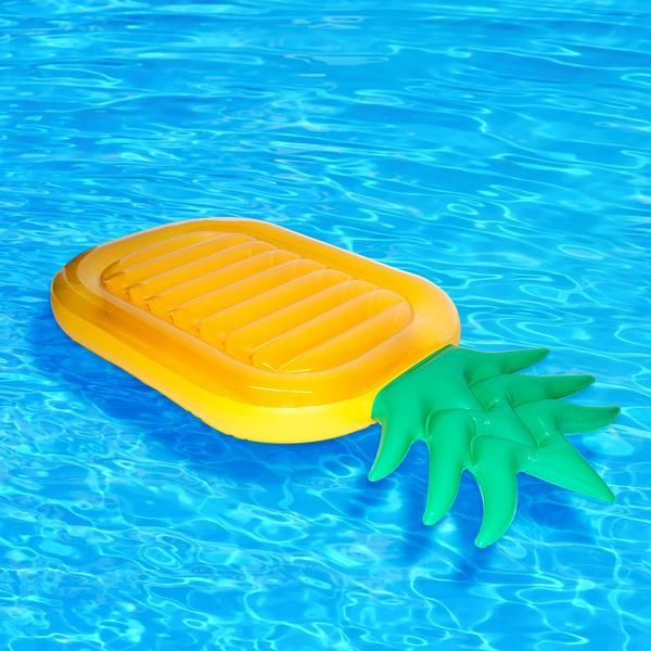 """""""If you like piña colada (cue that song), you will love this inflatable pineapple."""""""
