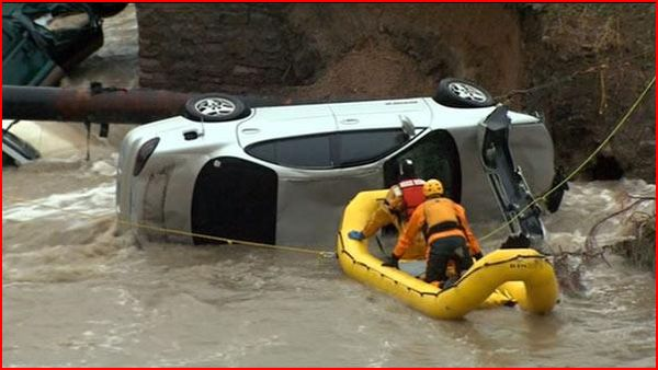Two dead as flash flooding hits parts of Colorado