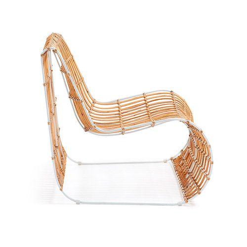 CARISSA Armchair Iron + Rattan by LaForma