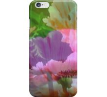 Poppy Layers: iPhone Case/Skin - available for purchase from Redbubble