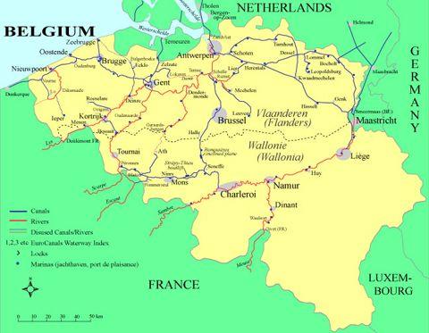 Belgium Waterways eGuide