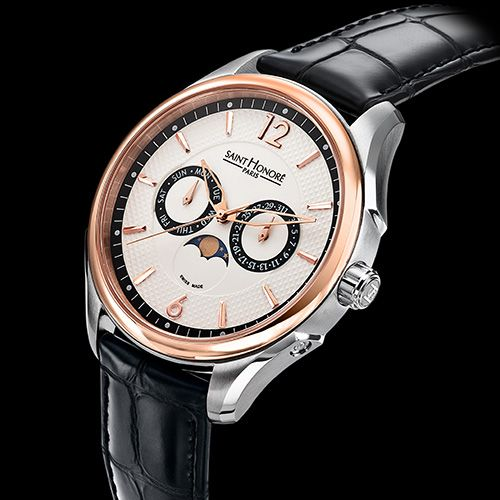 The true value of timeThe true value of time SAINT HONORE Carrousel Moon Phase (See more at:http://watchmobile7.com/articles/saint-honore-carrousel-moon-phase) (1/2) #watches #sainthonoreparis