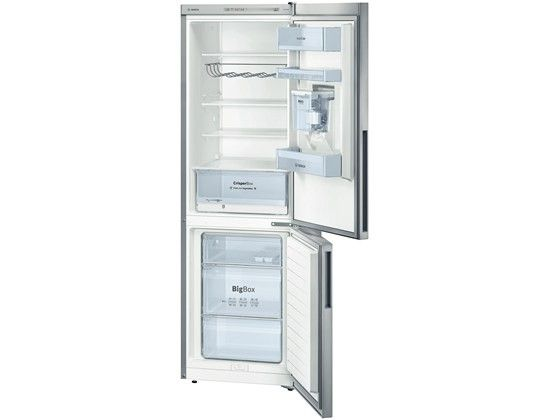 Bosch KGW36VL30G Fridge Freezer - Silver Bosch KGW36VL30G Silver Fridge Freezer Performance and Consumption:Energy efficiency class: A  Annual energy consumption 227 kWh (per year).Total net capacity: 309 litresNet fridge capacity: 215 litre http://www.MightGet.com/february-2017-2/bosch-kgw36vl30g-fridge-freezer--silver.asp