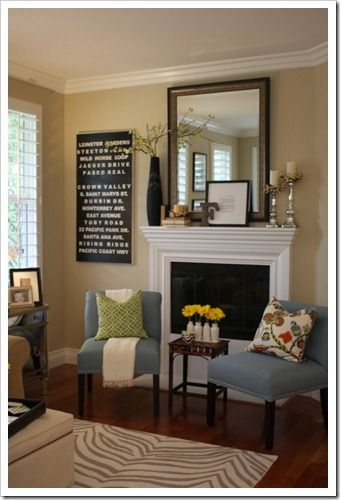 Simple Sweet Mantle Display For Someday When We Have A