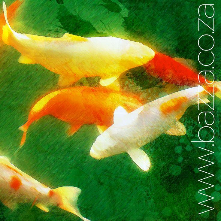 Koi 1 - Digital decore @ www.bazza.co.za