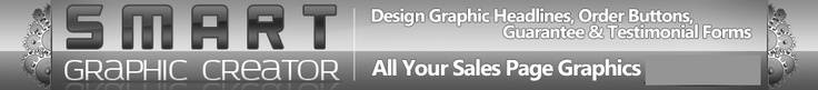 Smart Graphic Creator - Create Sales Page Graphics 100% FREE. You can upload and incorporate your own images, then download in jpg or transparent png. My fav ad, headline, and meme tool.